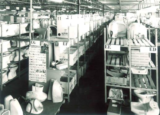 Oude foto magazijn